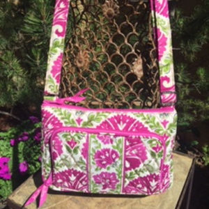 * Vera Bradley * Julep Tulip Pink Crossbody Bag